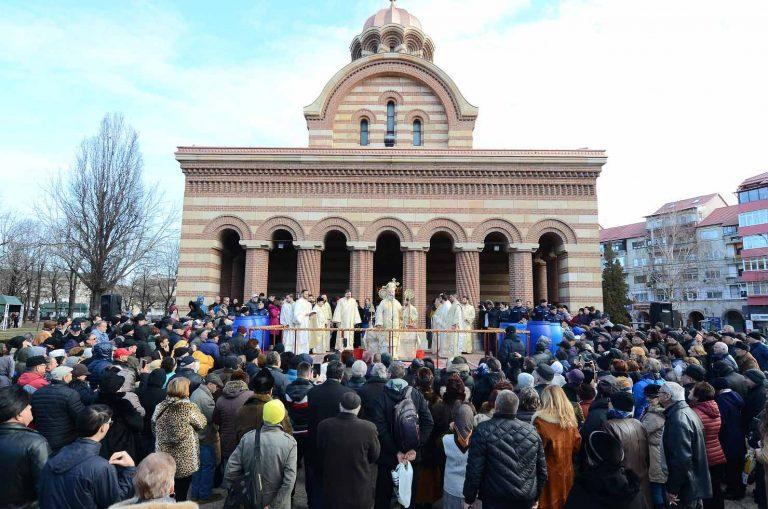 BOTEZUL DOMNULUI LA CATEDRALA MITROPOLITANĂ DIN TÂRGOVIȘTE, 6 ianuarie 2021