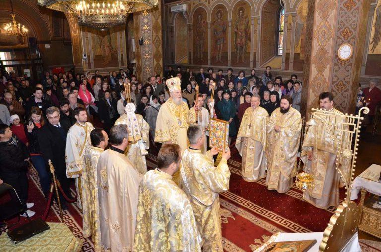 Read more about the article DUMINICA SFÂNTULUI APOSTOL TOMA, LA CATEDRALA DIN TÂRGOVIŞTE
