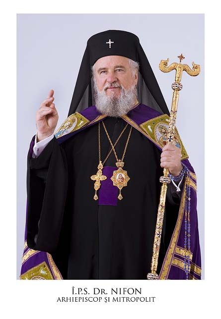 M E S A J U L Înaltpreasfinţitului Părinte Arhiepiscop şi Mitropolit NIFON, cu ocazia Zilei Naţionale a României, -1 decembrie 2015-