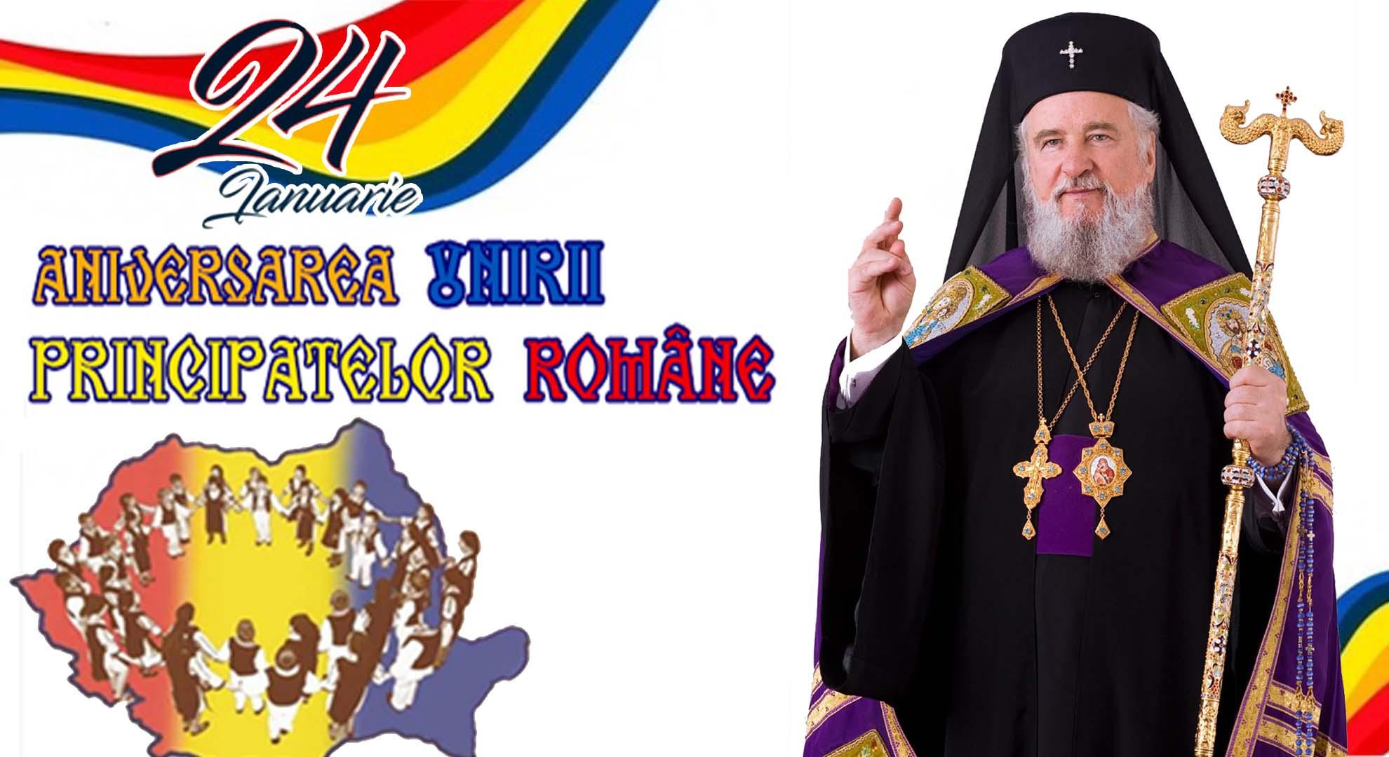 MESAJUL IPS Arhiepiscop şi Mitropolit NIFON, cu ocazia Zilei Unirii Principatelor Române -24 ianuarie 2021-