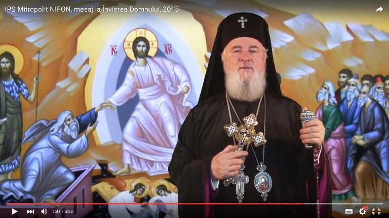Mesajul Î.P.S. Mitropolit NIFON cu ocazia Praznicului Învierii Domnului 2015