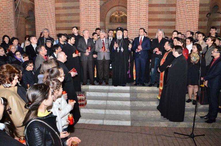 Read more about the article ÎN ARHIEPISCOPIA TÂRGOVIȘTEI, A AVUT LOC MANIFESTAREA CALEA LUMINII