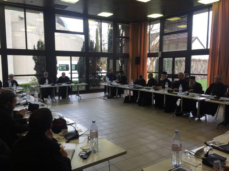 Read more about the article Pregătirea Sfântului şi Marelui Sinod al Bisericii Ortodoxe, Cea de a 3-a reuniune a Comisiei interortodoxe speciale