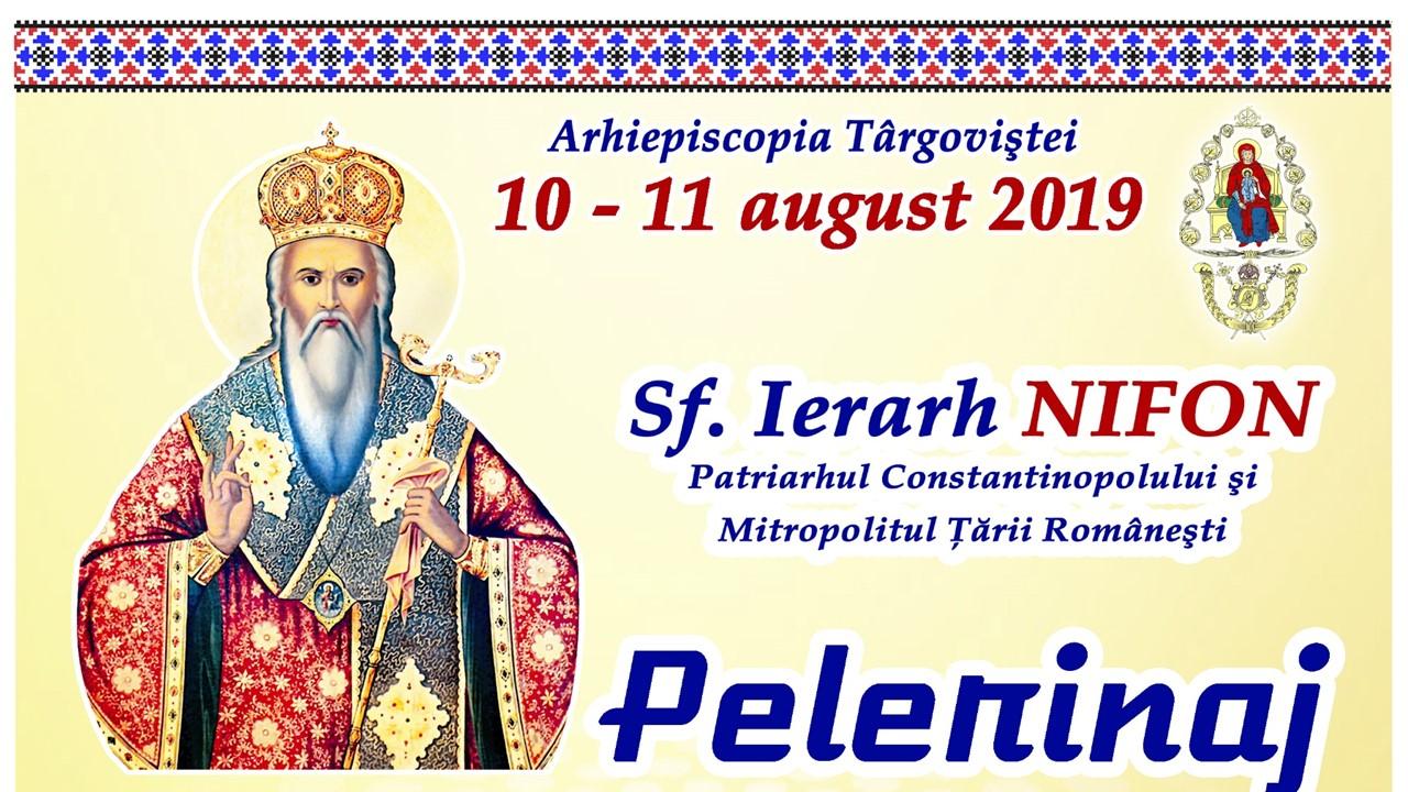 You are currently viewing Programul sărbătorii Sf. Ier. Nifon, Patriarhul Constantinopolului şi Mitropolitul Ţării Româneşti, 10-11 august 2019