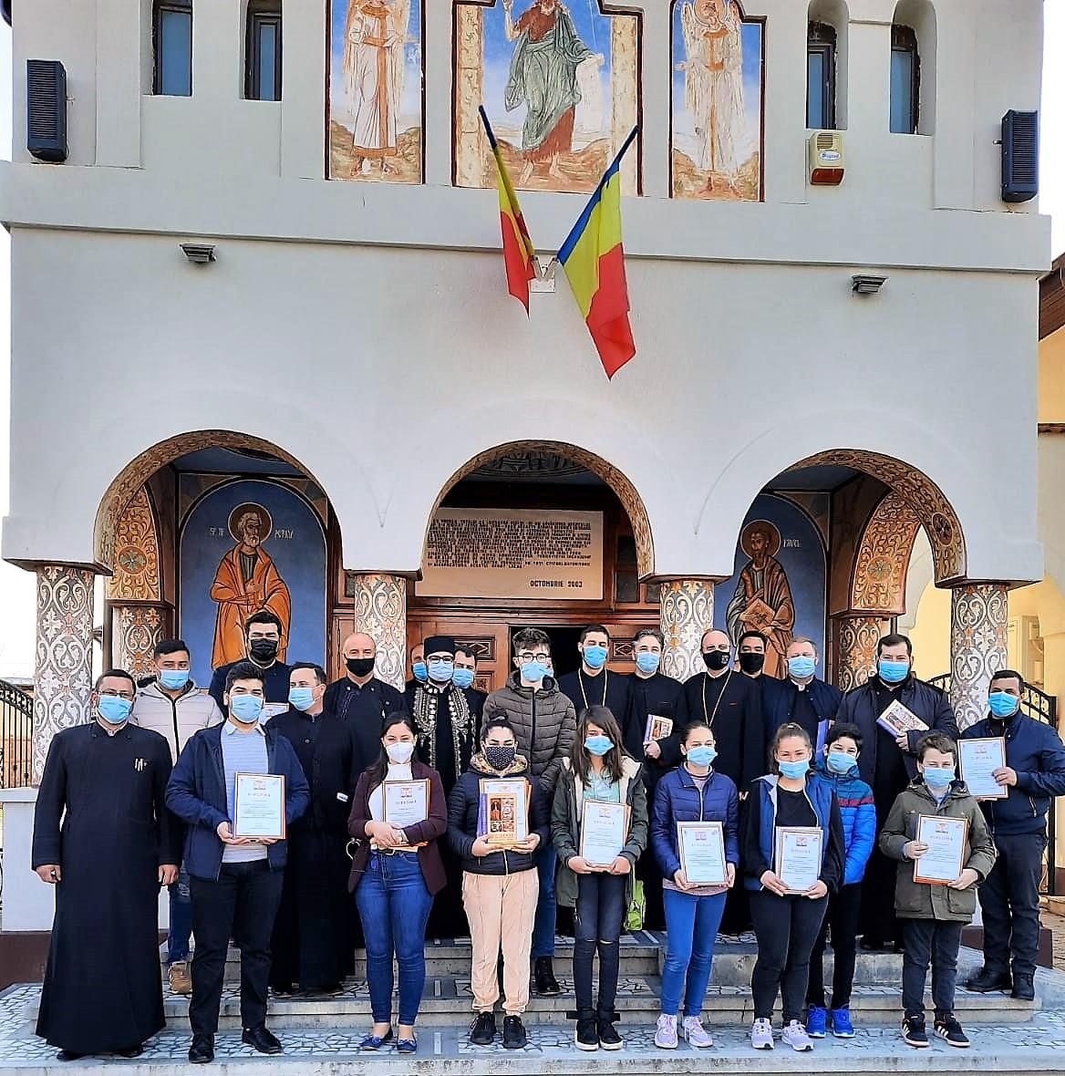 PROTOIERIILE DIN ARHIEPISCOPIA TÂRGOVIȘTEI AU PREMIAT 855 DE PARTICIPANȚI LA CONCURSUL NAȚIONAL DIN ACEST AN