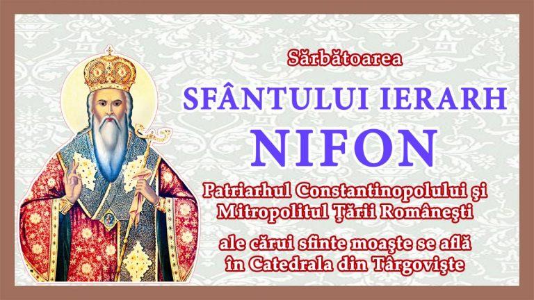 Read more about the article PROMO VIDEO – Sărbătoarea Sf. Ier. Nifon, în Arhiepiscopia Târgoviştei, 10 – 11 august 2021