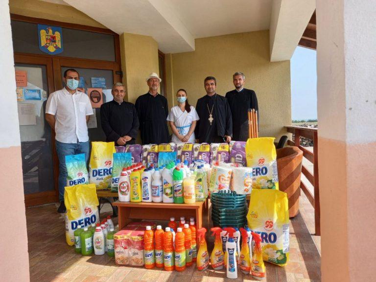 Read more about the article ÎNCĂ UN CENTRU SOCIAL A FOST AJUTAT DE BISERICĂ